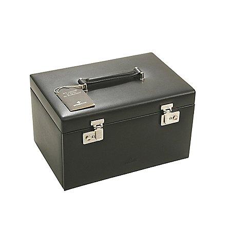 Windrose Ambiance Schmuckkoffer / Uhrenkoffer 3 Etagen aus Leder