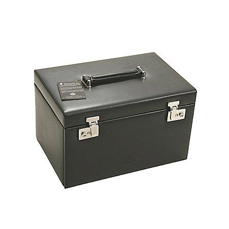 Windrose Ambiance Schmuckkoffer 3 Etagen aus Leder