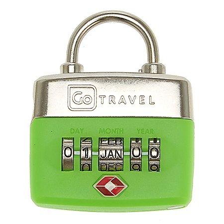 Design Go Reisezubeh�r Kombinationsschloss mit Datumseingabe