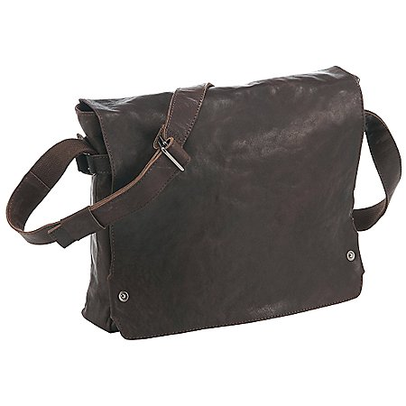Harolds R. Johnson Messenger Bag aus Leder 37 cm
