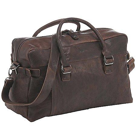 Harolds R. Johnson Reisetasche aus Leder 48 cm