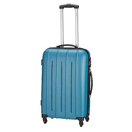 koffer-direkt.de Pure Colourlite 4-Rollen-Trolley 66 cm