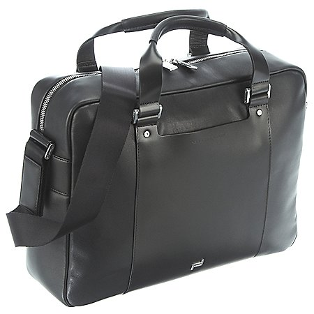 Porsche Design Shyrt-Leather BriefBag MZ mit Laptopfach 39 cm