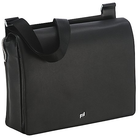Porsche Design Shyrt-Leather SholderBag Kuriertasche mit Laptopfach 38 cm