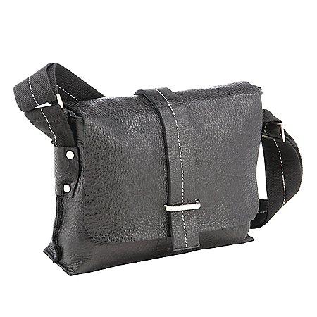 Bugatti Monterey Messenger Bag Querformat aus Leder 29 cm