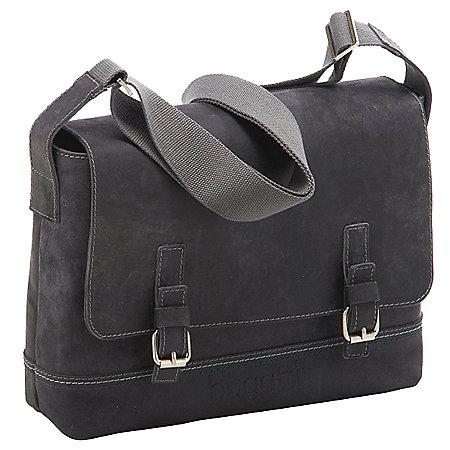 Bugatti Kensington Messenger Bag aus Leder 38 cm