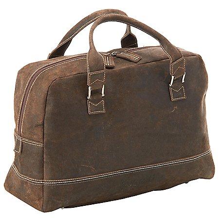 Bugatti Kensington kleine Reisetasche aus Leder 50 cm