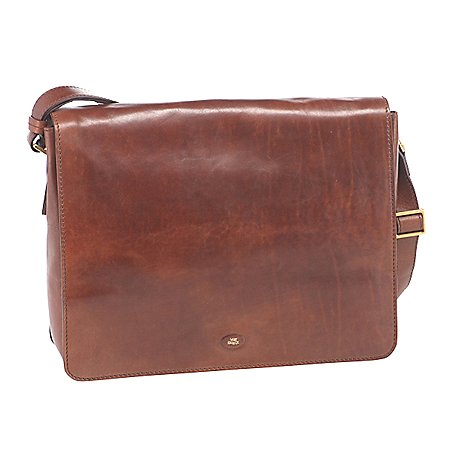 The Bridge Story Uomo Messenger Bag aus Leder 38 cm