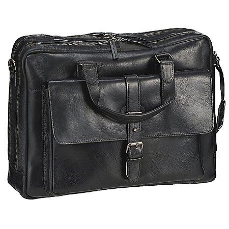 Leonhard Heyden Roma Kurzgrifftasche mit Laptopfach 41 cm