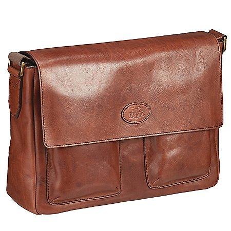 The Bridge Sfoderata Luxe Uomo Messenger Bag 37 cm
