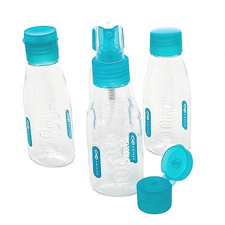 Design Go Reisezubehör Cabin Bottles Flugsicherheitsbeutel mit Flaschen