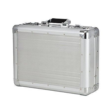 Dermata Business großer Aktenkoffer aus Aluminium 46 cm