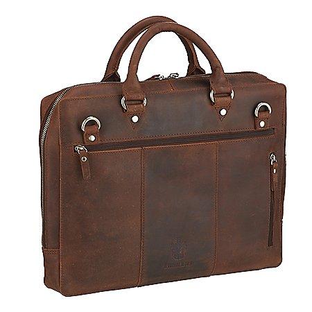 Leonhard Heyden Salisbury Kurzgrifftasche mit Laptopfach 38 cm