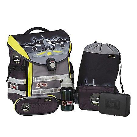 McNeill Schultaschen Sets Flash-Line Ergo Light Plus 6-tlg.