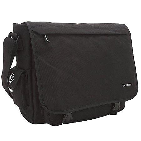Travelite Basics Messenger Tasche mit Organizerfach 41 cm