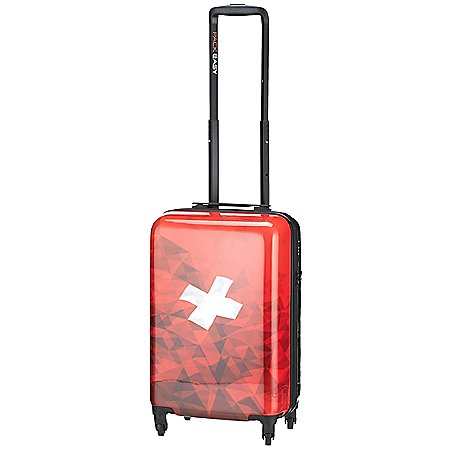 Pack Easy Swiss Collection 4-Rollen-Kabinentrolley 55 cm