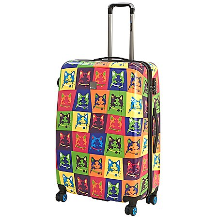 Saxoline Blue Cats 4-Rollen-Trolley 67 cm