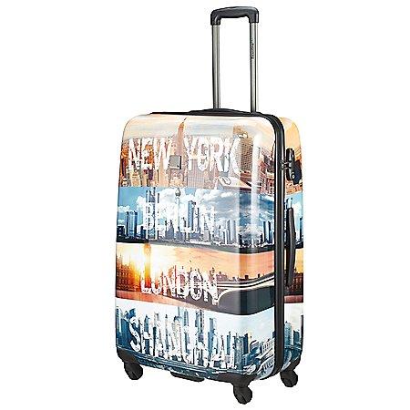 Saxoline Blue Cities 4-Rollen-Trolley 67 cm