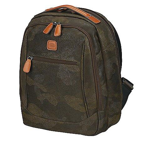 Brics Life Camouflage Rucksack mit Laptopfach 37 cm