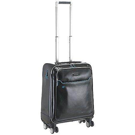 Piquadro Blue Square 4-Rollen-Trolley mit Laptopfach 56 cm