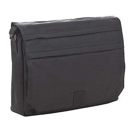 koffer-direkt.de Prato Messenger Bag mit Laptopfach aus Leder 42 cm