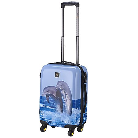 National Geographic Nature of Love Dolphin 4-Rollen-Trolley 55 cm