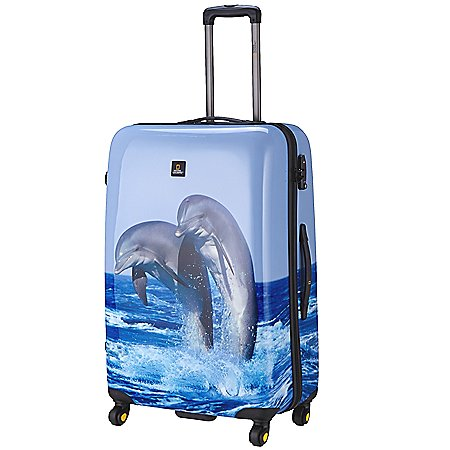 National Geographic Nature of Love Dolphin 4-Rollen Trolley 78 cm