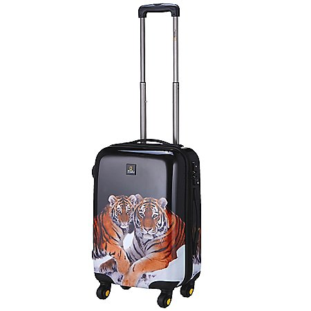 National Geographic Nature of Love Tiger 4-Rollen-Trolley 55 cm
