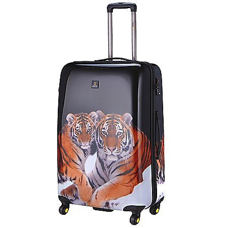 National Geographic Nature of Love Tiger 4-Rollen-Trolley 78 cm