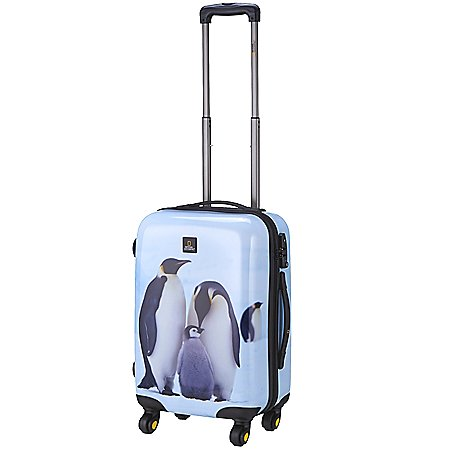 National Geographic Nature of Love Pinguin 4-Rollen-Trolley 55 cm