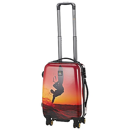 National Geographic Adventure of Life Sky Surfer 4-Rollen-Trolley 55 cm