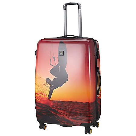 National Geographic Adventure of Life Sky Surfer 4-Rollen-Trolley 78 cm