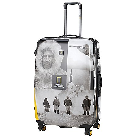National Geographic Adventure of Life Scientist Robert E. Peary 4-Rollen-Trolley 78 cm