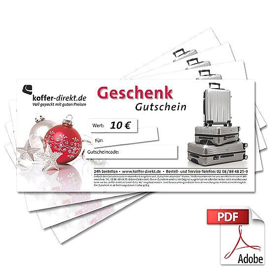 10,00€ X-Mas-Gutschein als PDF