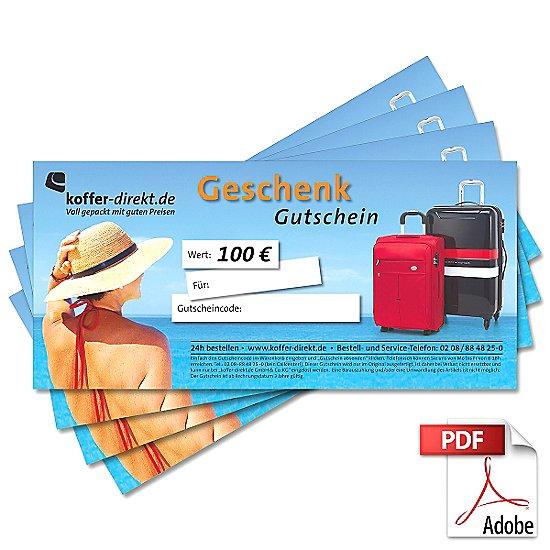 100,00€ Sommer Gutschein als PDF
