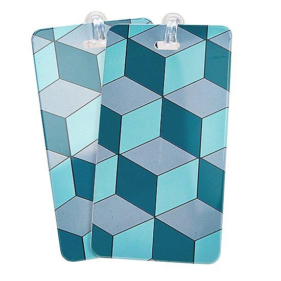 türkis blau cube