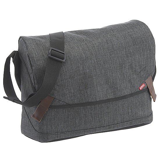 tweed dark grey
