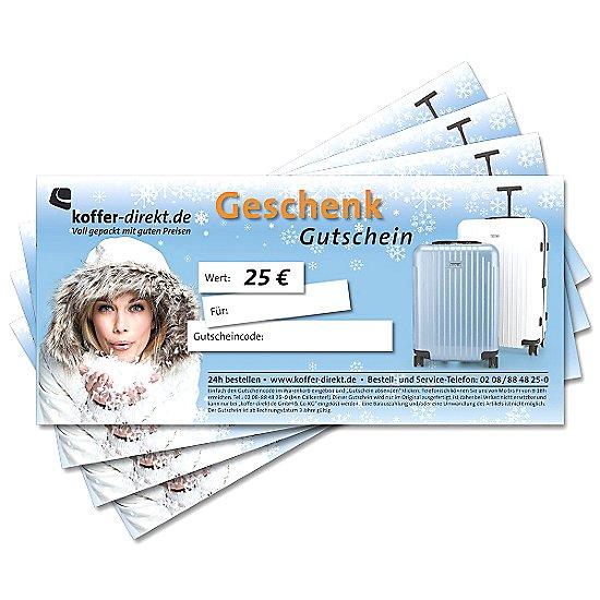 25,00€ Winter Gutschein
