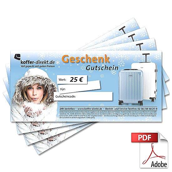 25,00€ Winter Gutschein als PDF