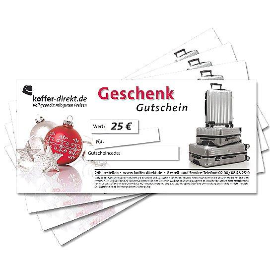 25,00€ X-Mas-Gutschein