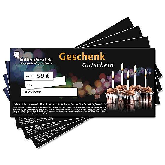 50,00€ Feier Gutschein