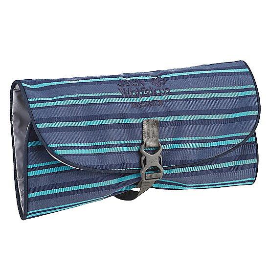 blue woven stripes