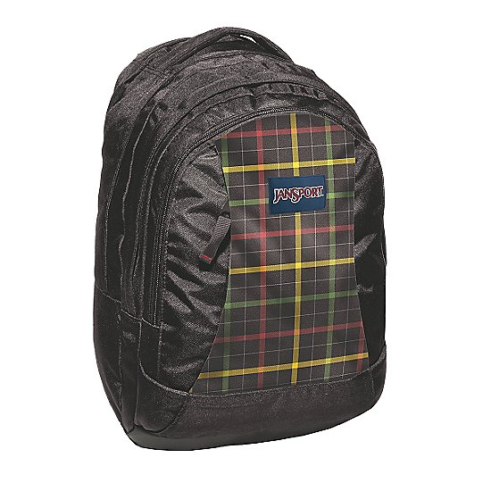 black/rasta london plaid