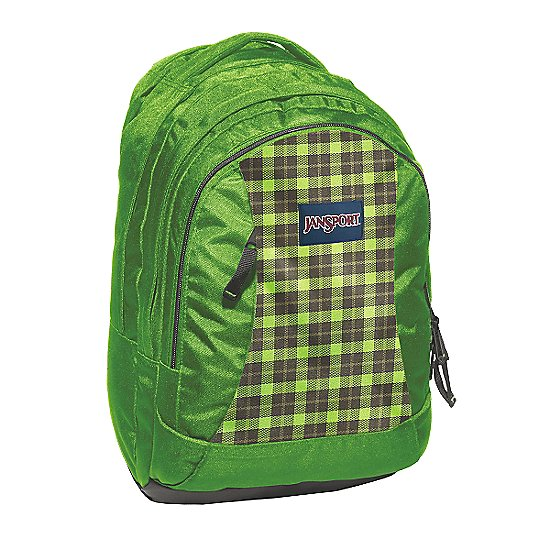 hedge green frontier plaid
