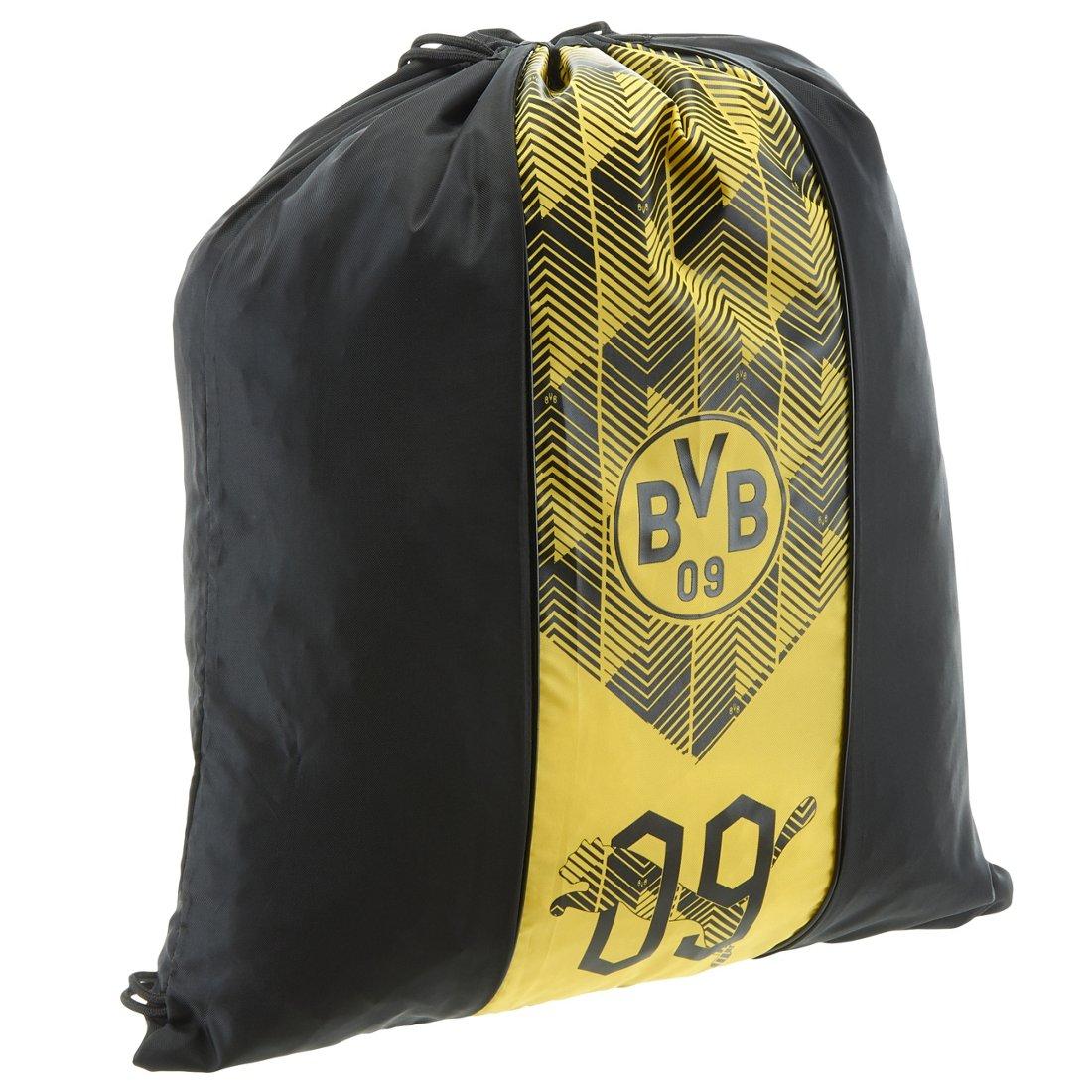 d2ee163465b82 Puma BVB Fan Gym Sack Sportbeutel 47 cm - black-cyber yellow
