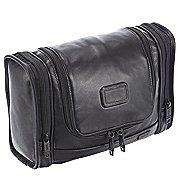 Tumi Alpha Travel Leather Kulturbeutel 30 cm