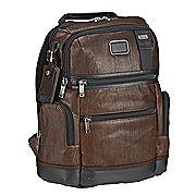 Tumi Alpha Bravo Leather Knox Rucksack mit Laptopfach 40 cm