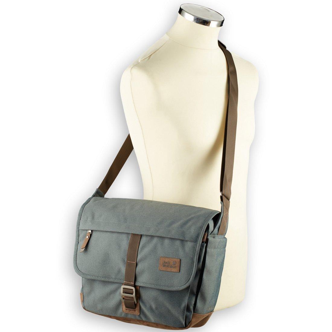 kup tanio odebrane sprzedaje Jack Wolfskin Daypacks & Bags Camden Town Umhängetasche 37 cm - greenish  grey