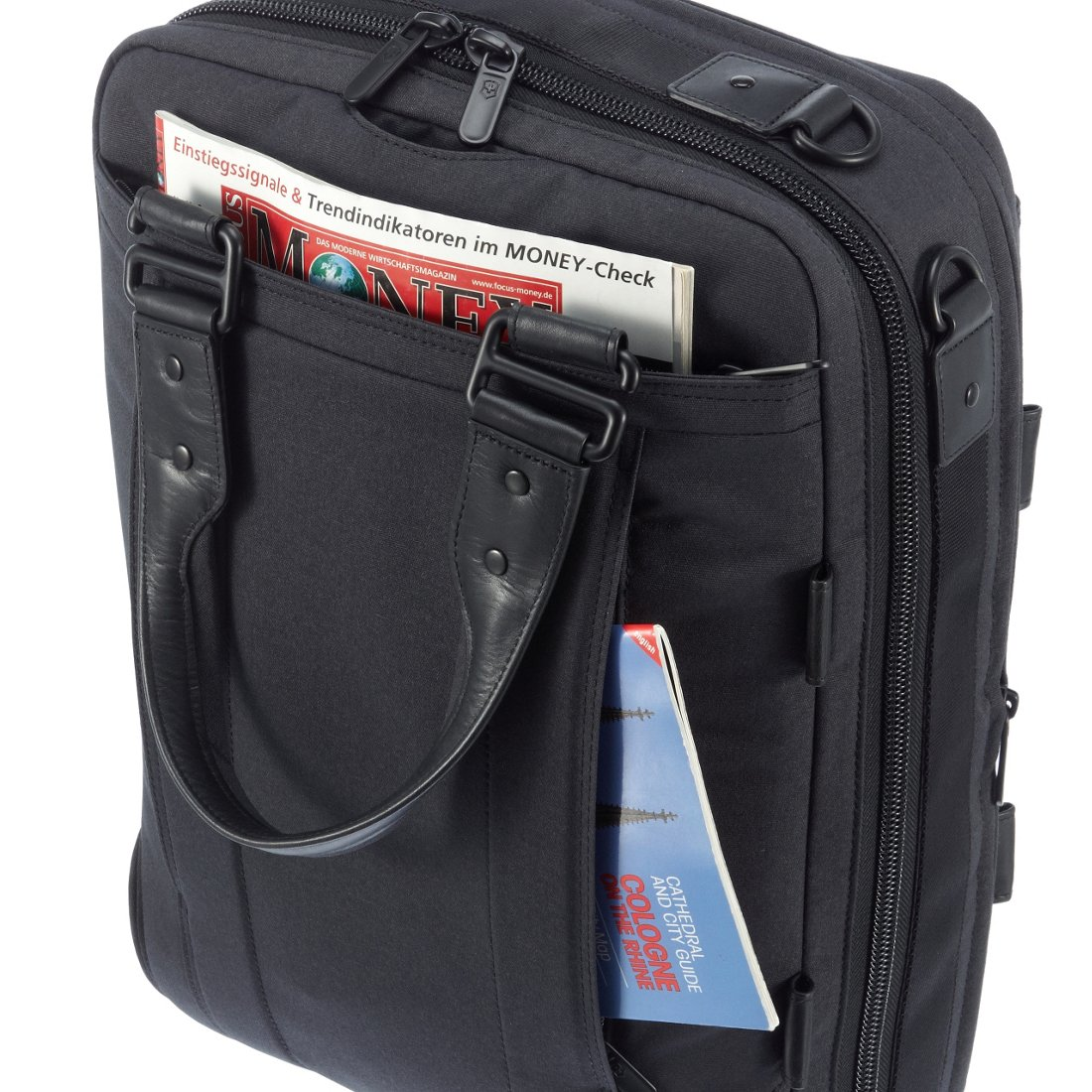 e4d4cd23d3464 Victorinox Architecture Urban Dufour 3-Wege Tasche mit Laptopfach 43 cm -  grey. Previous