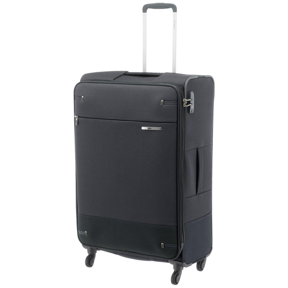 e303d825eaf Samsonite Base Boost 4-Rollen-Trolley 78 cm - black - koffer-direkt.de